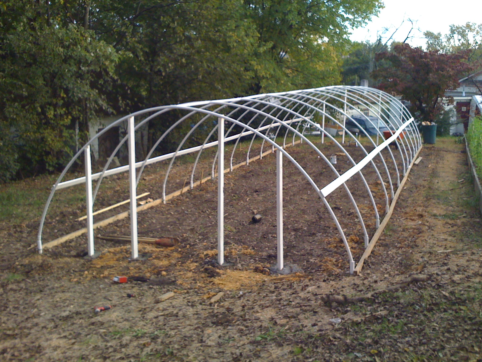 House Construction Hoop House Construction Plans